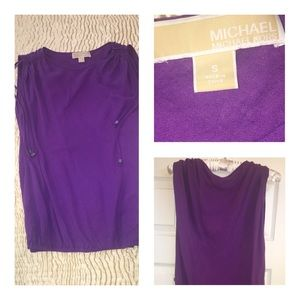 Michael Kors Sleeveless Top Sz S